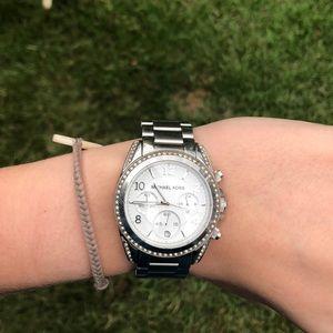 Michael Kors watch, silver